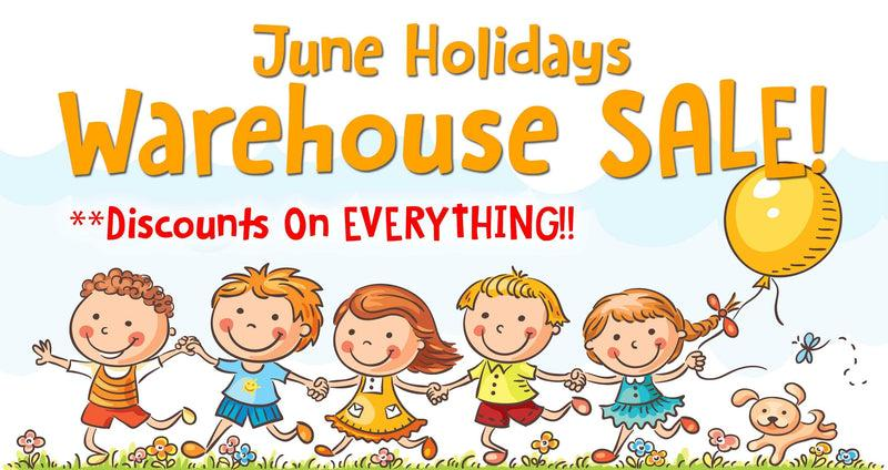 Coming Up: The $1 Only June Holiday Warehouse Sale!