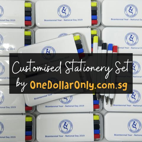 custom stationery set