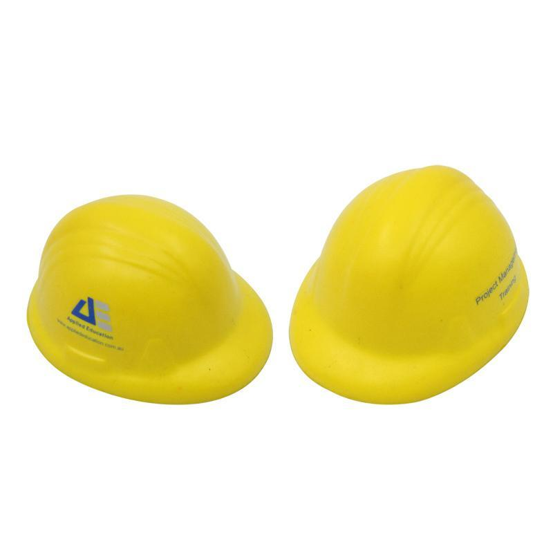 construction cap stress ball cheap corporate gifts