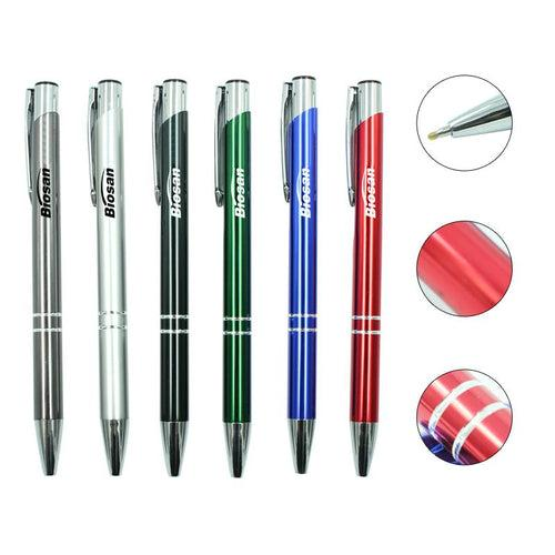 Push Button Aluminium Pen CG Pens One Dollar Only
