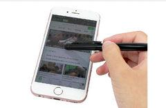 Minimalist Metal Twist-Type Ballpoint Pen With Stylus CG Ballpoint Pens One Dollar Only
