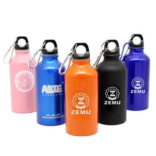 Stainless Steel Drinking Bottle With Narrow Handle And Clip CG Drinkware One Dollar Only
