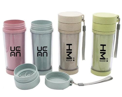 Portable Clear Insulated Tea Cup CG Drinkware One Dollar Only