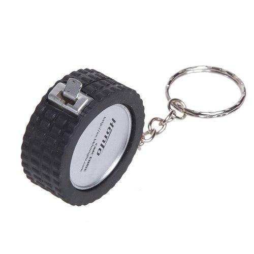 Tyre Keychain With Tape Measure CG Measuring Tape One Dollar Only