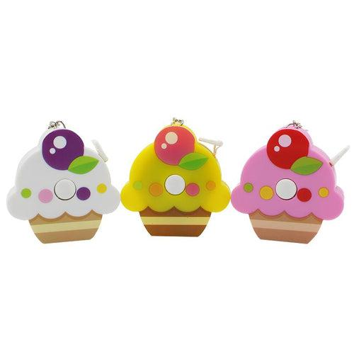 Cupcake Keychain With Tape Measure CG Measuring Tape One Dollar Only