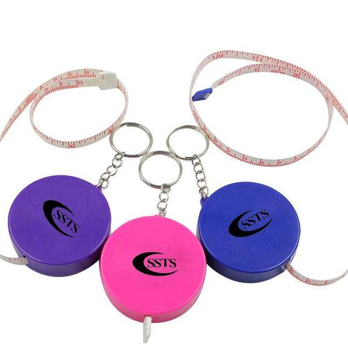 Round Keychain With Tape Measure (5.5Cm) CG Measuring Tape One Dollar Only