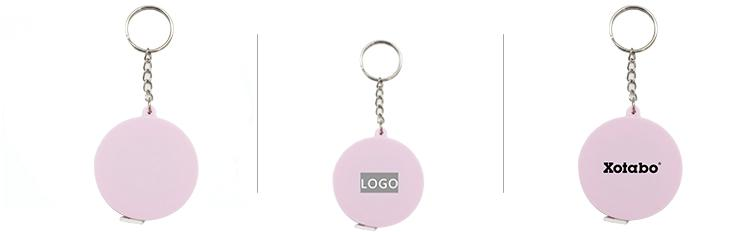 1.5m Round Tape Measure Keychain