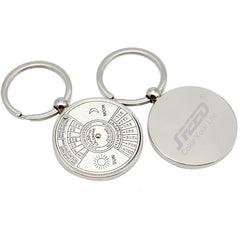 Keychain With Rotating Calendar CG Keychains One Dollar Only