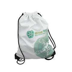 Thin White Canvas Drawstring Bag CG Bags One Dollar Only