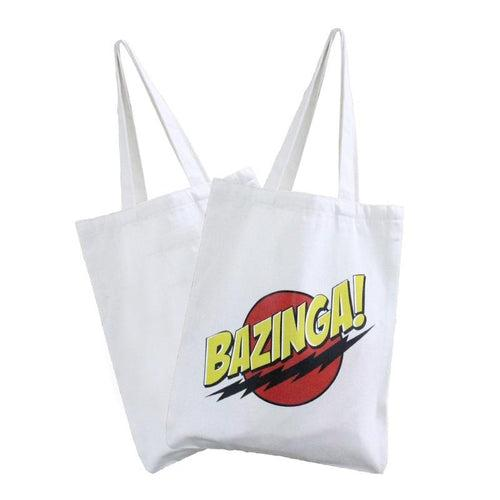 White Canvas Tote Bag CG Bags One Dollar Only
