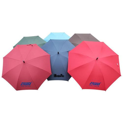 Non-Collapsible 8K Umbrella With Straight Handle CG Umbrella One Dollar Only