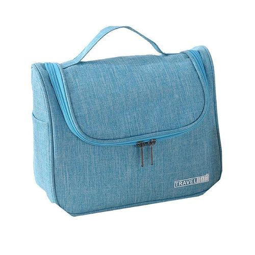 Zippered Toiletry Bag With Side Pockets For Travel CG Bags One Dollar Only