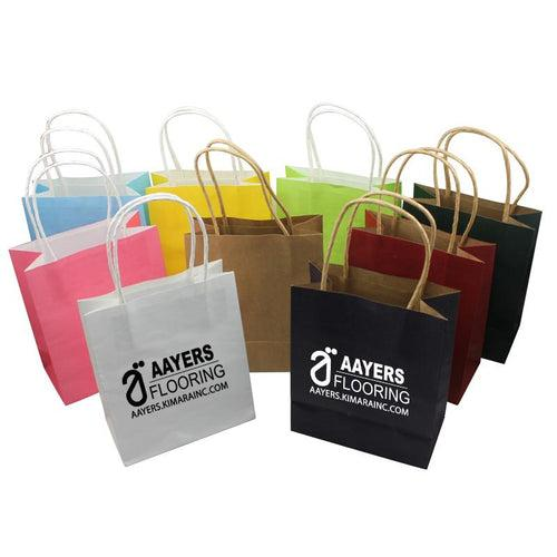 Small Eco-Friendly Kraft Paper Bag CG Paper Bags One Dollar Only