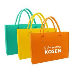 Solid Colour Felt Tote Bag IWG FC One Dollar Only
