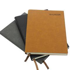 Notebook With Textured Pu Leather Cover CG Notebooks One Dollar Only