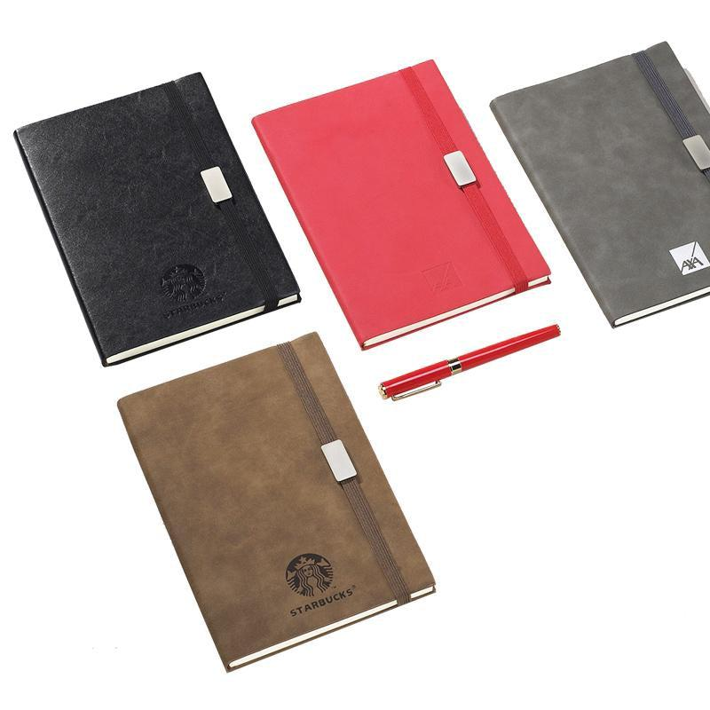 Business Paperback Notebook With Imitation Leather Cover