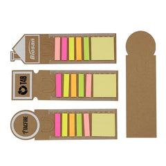 Sticky Notepad Set on Hanging Ruler CG Sticky Notes One Dollar Only