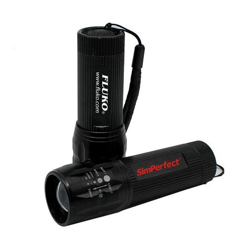Extra Bright Torch Light With Textured Grip CG Torch Lights One Dollar Only
