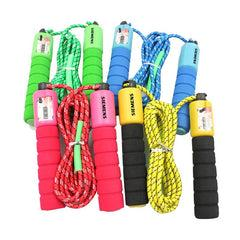 Skipping Rope With Grooved Eva Handles CG Skipping Ropes One Dollar Only