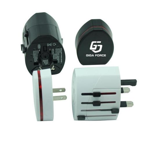 Universal Power Adapter With 4 Plug Types CG Adapters One Dollar Only