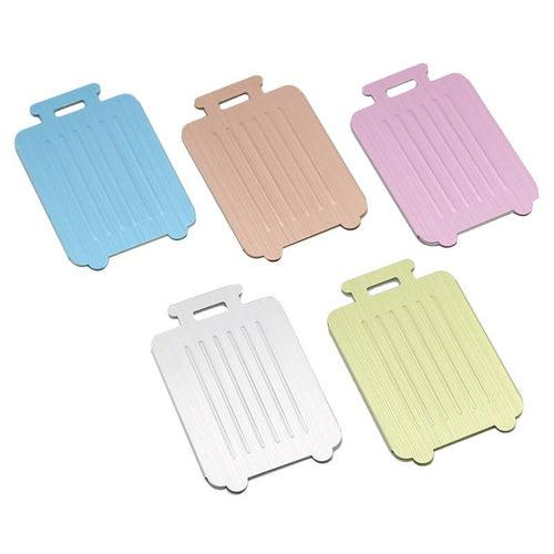 Trolley Suitcase-Shaped Luggage Tag CG Luggage Tags One Dollar Only