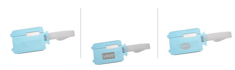 Trolley Suitcase-Shaped Luggage Tag