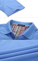 Short-Sleeved Polo Shirt With Striped Pattern IWG FC One Dollar Only