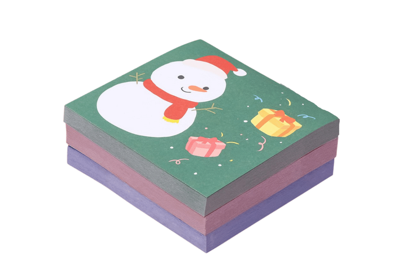 Christmas Theme Post It Notes