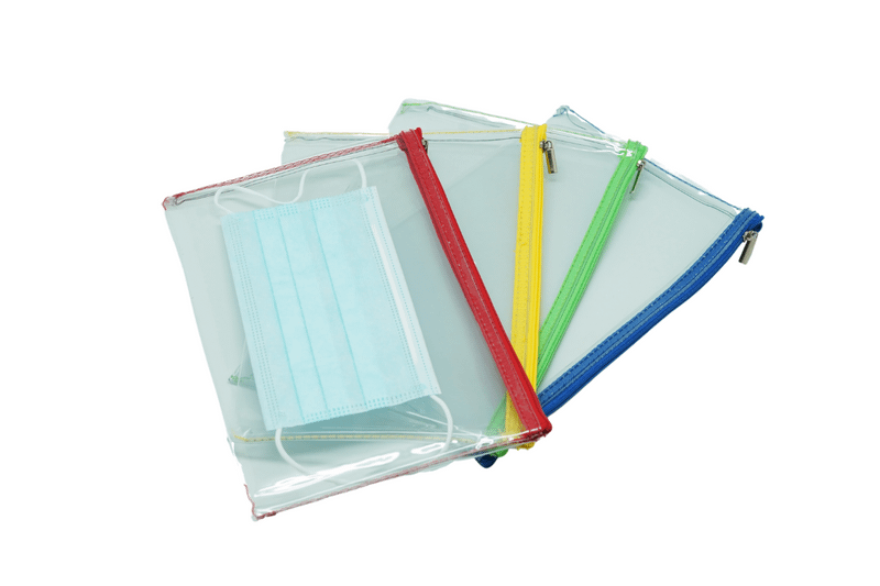 Premium Ultra Thick Transparent Zipper Case A5 Cases One Dollar Only