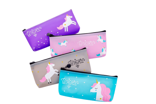 Whimsical Unicorn Pencil Case Cases One Dollar Only