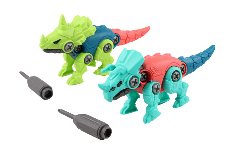 Dinosaur Design DIY Assembly Toy Games and Toys One Dollar Only