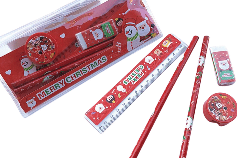 Christmas Theme Stationery Set