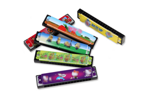 Plastic Harmonica Games and Toys One Dollar Only