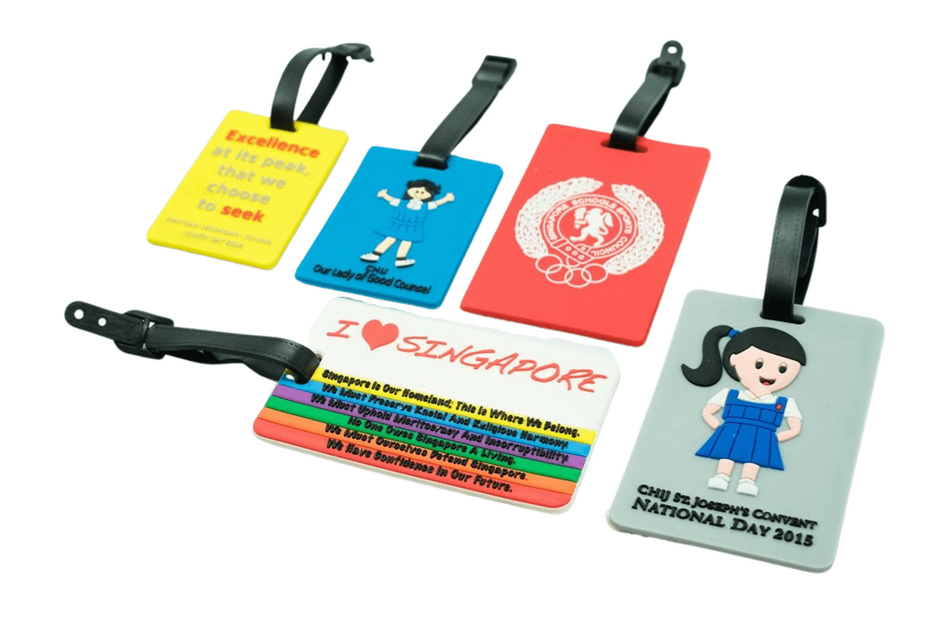 customized luggage tag cheap corporate gifts