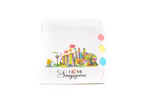 Singapore Design 4 Compartment L Folder FILES FOLDERS One Dollar Only