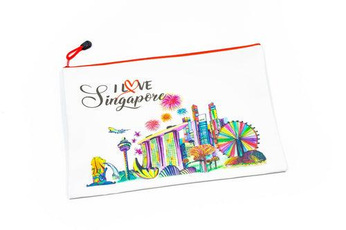 Singapore Design A4 Zip Case CASES One Dollar Only