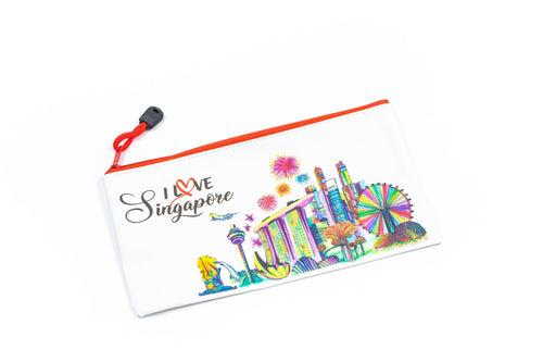 Singapore Design Zip Pencil Case CASES One Dollar Only