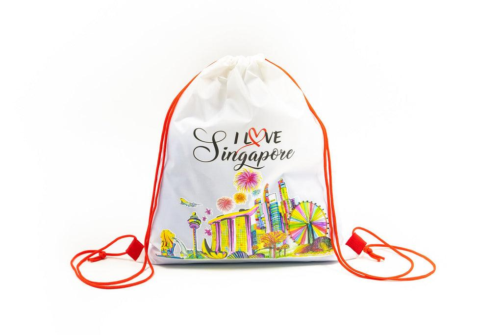 cheap corporate gift singapore drawstring