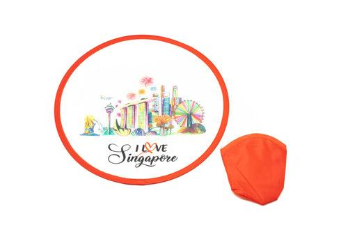Singapore Design Frisbee Fan GAMES AND TOYS One Dollar Only