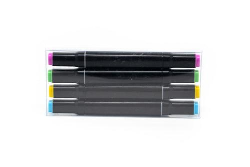 Set Of 4 Dual Tipped Markers MARKERS One Dollar Only