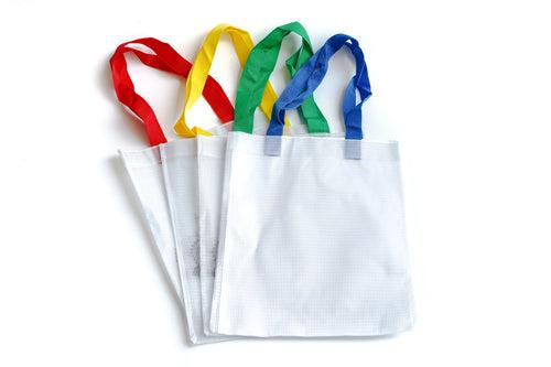 Translucent Mesh Tote Bag With Handle BAGS One Dollar Only
