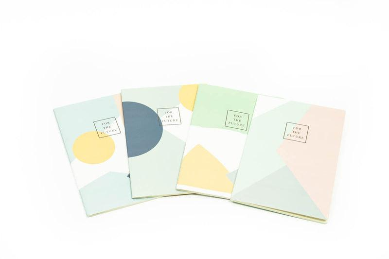 Abstract Color Theme A5 Notebook Notebooks One Dollar Only