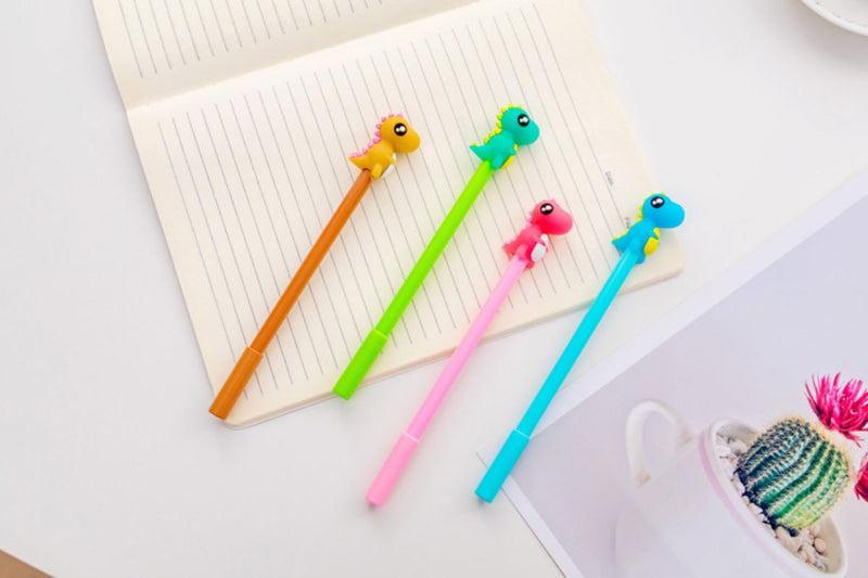 Colorful Little Dinosaur Gel Ink Pen PENS One Dollar Only