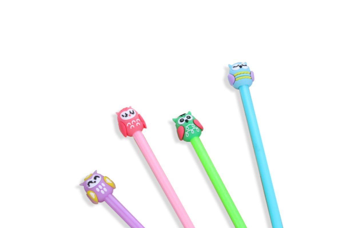 Cute Owl Design Gel Ink Pen
