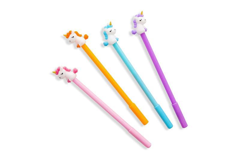 Whimsical Unicorn Themed Gel Ink Pen PENS One Dollar Only