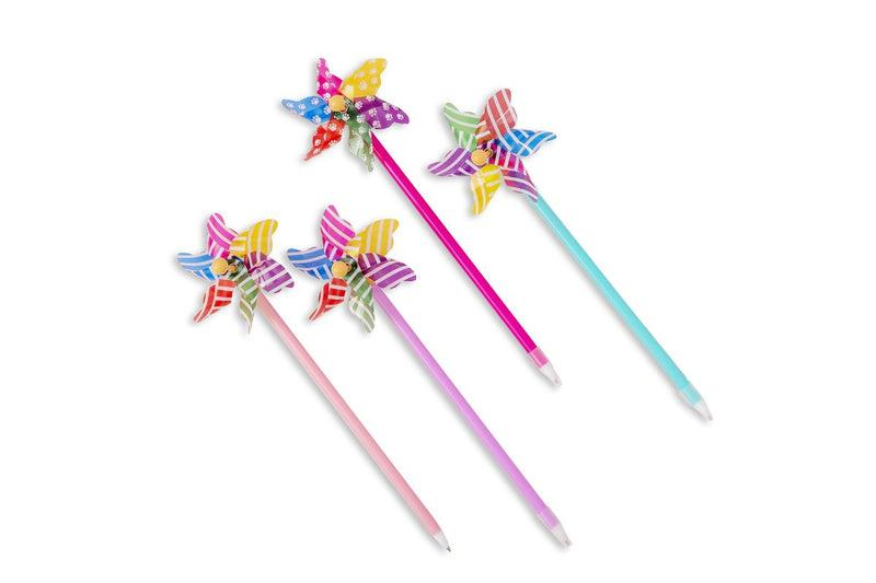 Cute Windmill Design Ball Point Pen Pens One Dollar Only
