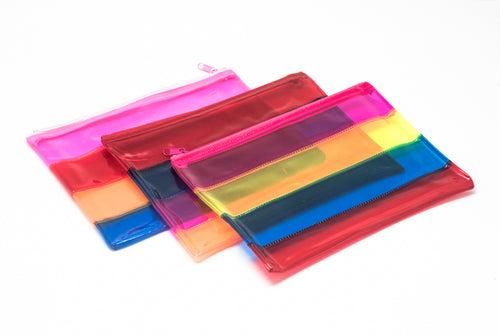 Neon Band Transparent Case (A5) Cases One Dollar Only