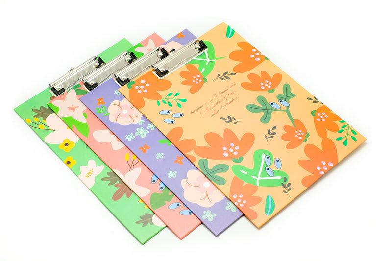 Floral Design Quote Clipboard Files and Folders One Dollar Only