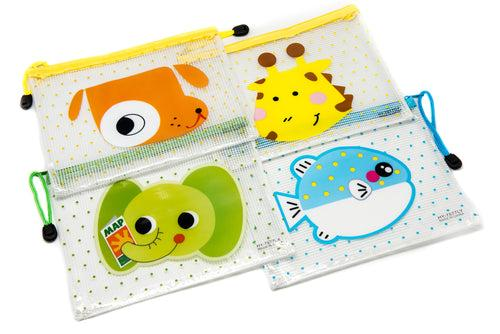 A5 Transparent Animal Zip Case Cases One Dollar Only