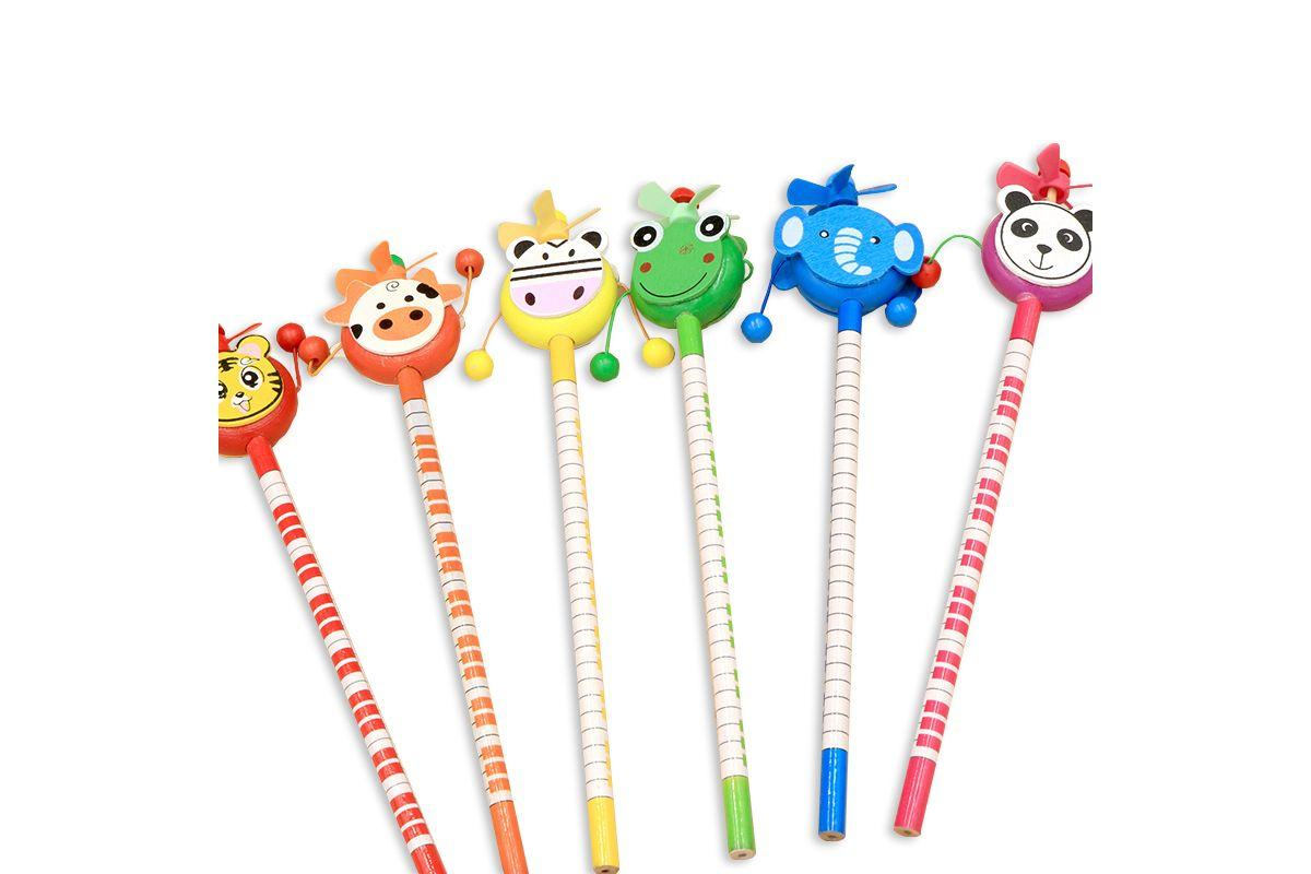 Rattle Toy Animal Theme Pencil
